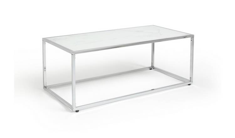 Habitat Boutique Coffee Table - Marble Effect
