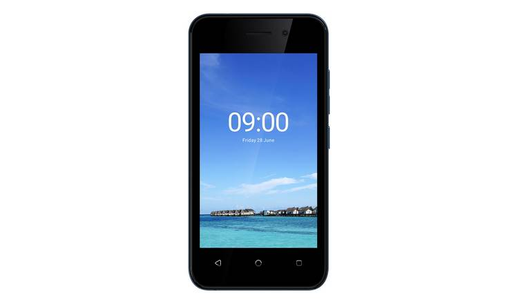 Vodafone IMO Q2 Plus Mobile Phone - Blue