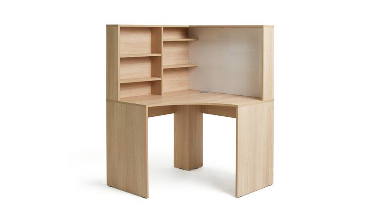 Habitat Pepper Corner Desk - Oak Effect