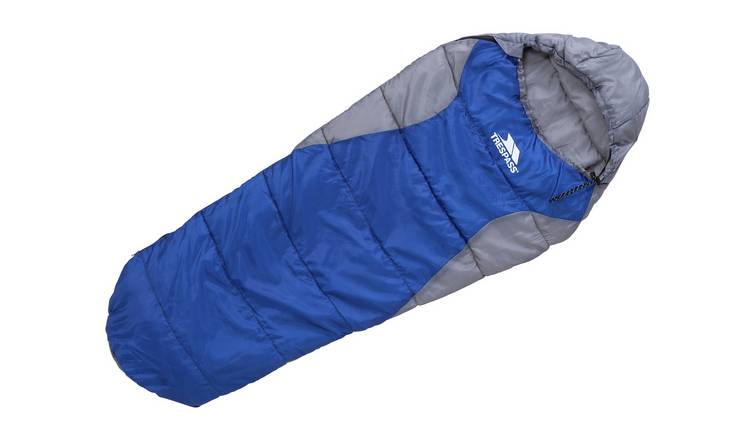 Trespass 250GSM Junior Mummy Sleeping Bag