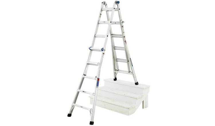 Werner 4 x 5 Telescopic Combi Ladder