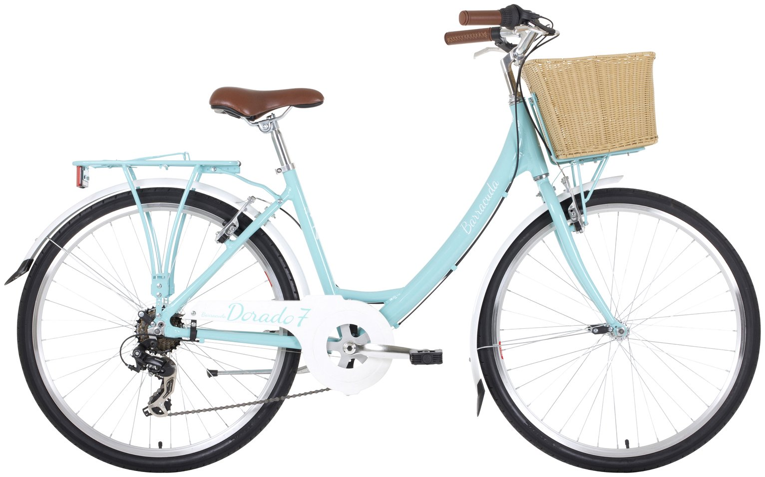 Image of Barracuda Dorado 7 17 inch Hybrid Bike - Adult's.