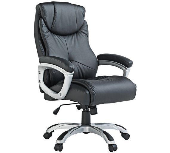 Buy X-Rocker Executive Height Adjustable Office Chair - Black at ...