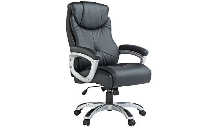 Buy X Rocker Executive Height Adjustable Office Chair Black Office