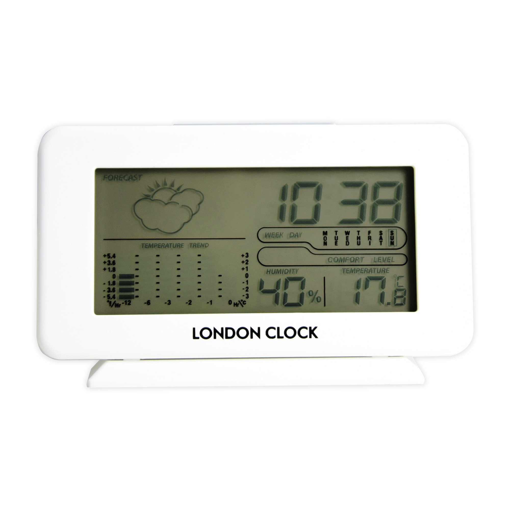 LC White Digital Weather Station