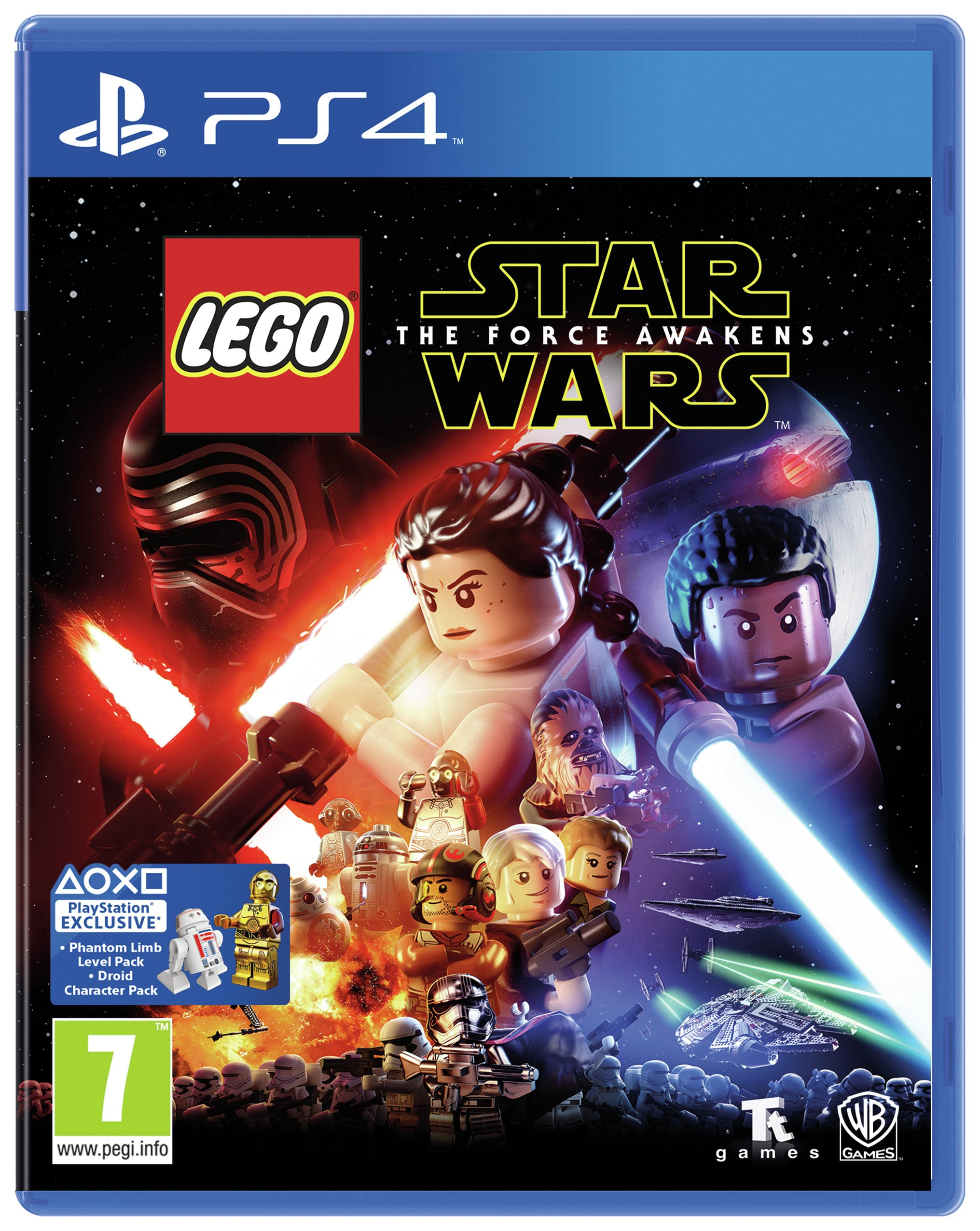 Lego Star Wars: The Force Awakens PS4 Game