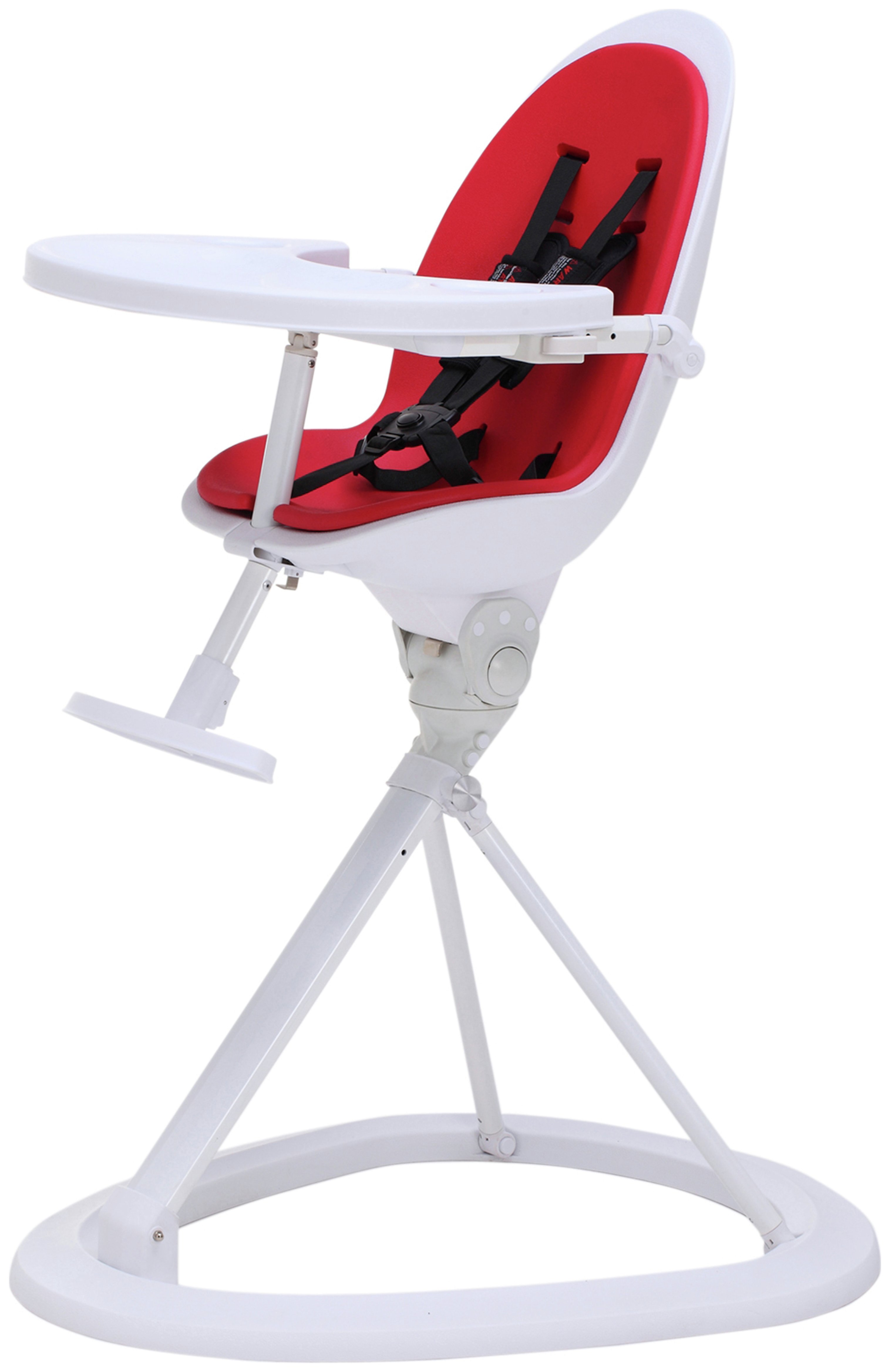 Compare retail prices of Ickle Bubba Red on White Highchair. to get the best deal online
