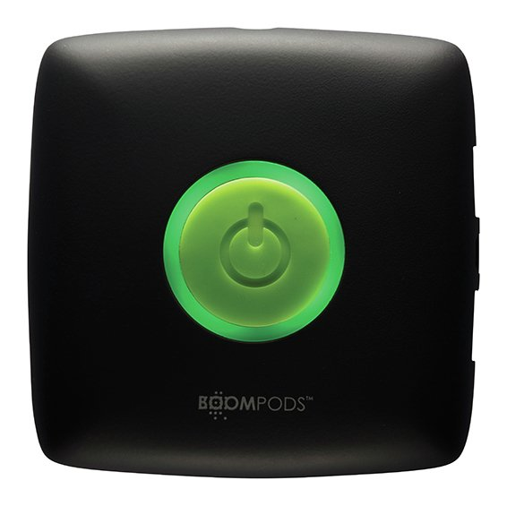 Boompods Portable Charger - Green.