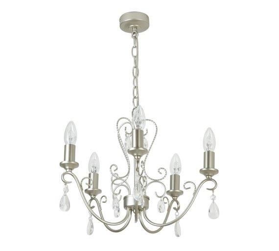 Buy heart of house lavena glass chandelier champagne silver at heart of house lavena glass chandelier champagne silver aloadofball Image collections