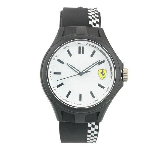 buy scuderia ferrari men s pit crew white strap watch at argos co scuderia ferrari men s pit crew white strap watch526 7525