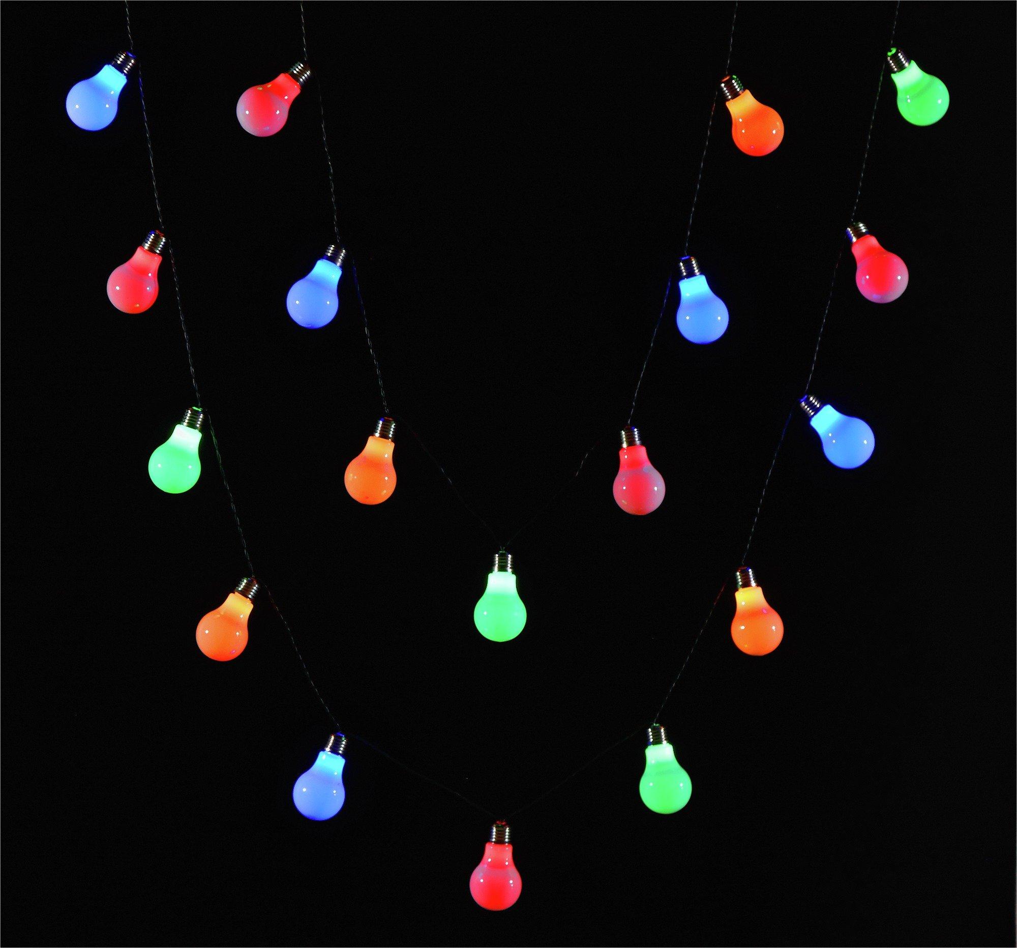 40 Lightbulbs String Lights - Multicoloured