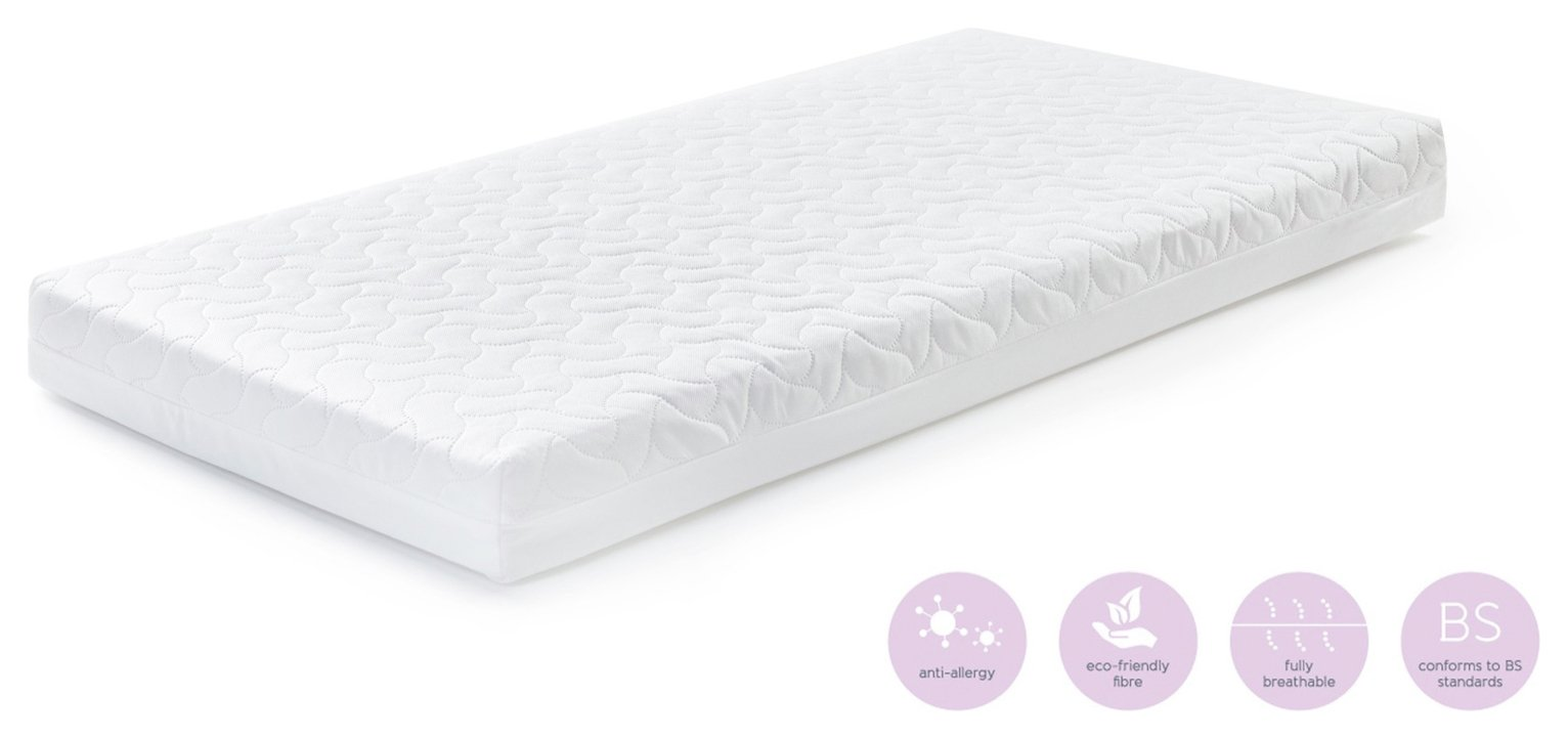 baby elegance healthcare anti-allergy fibre cot mattress (5269736