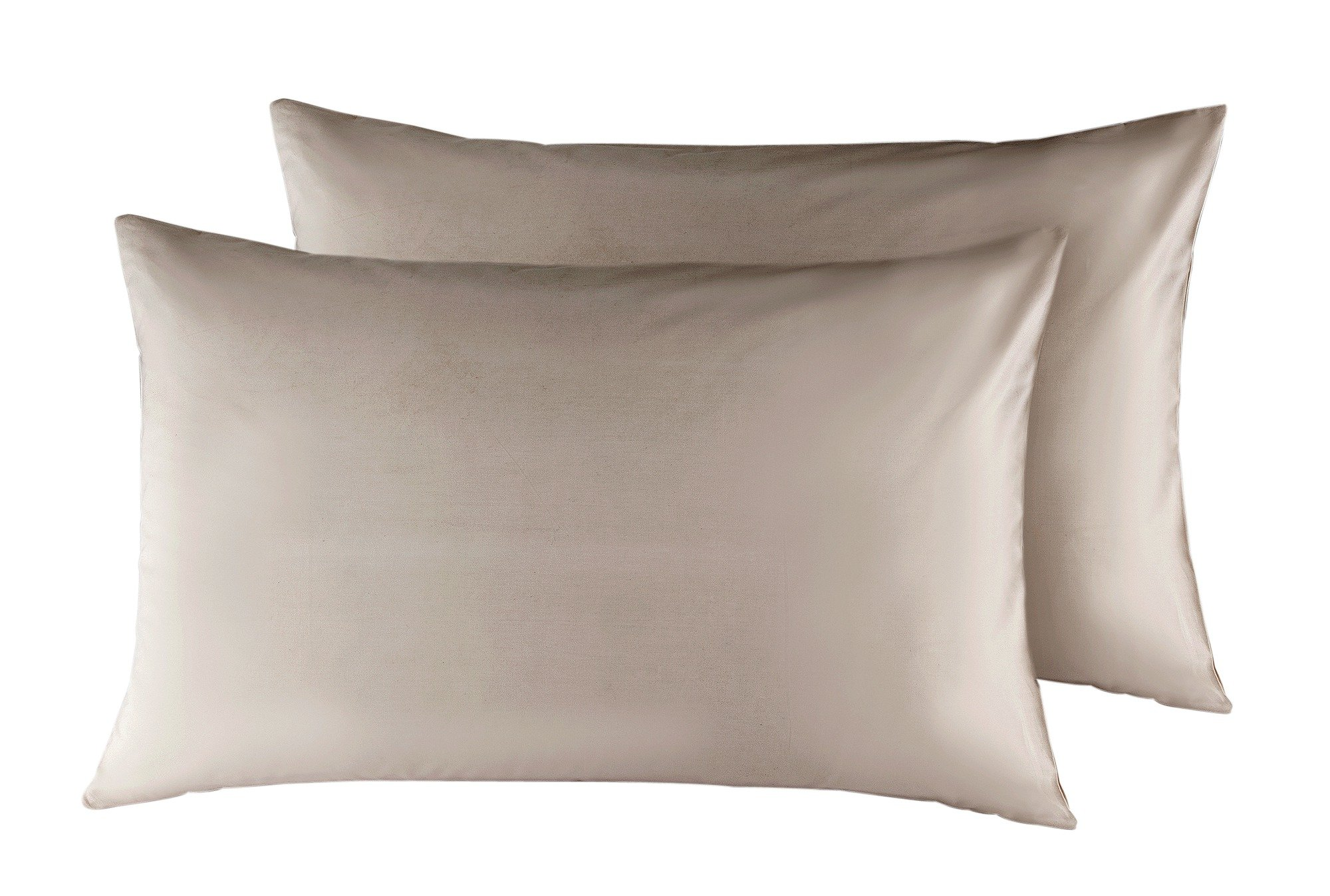 Heart of House - Pair of Egyptian Housewife Pillowcases-Ivory