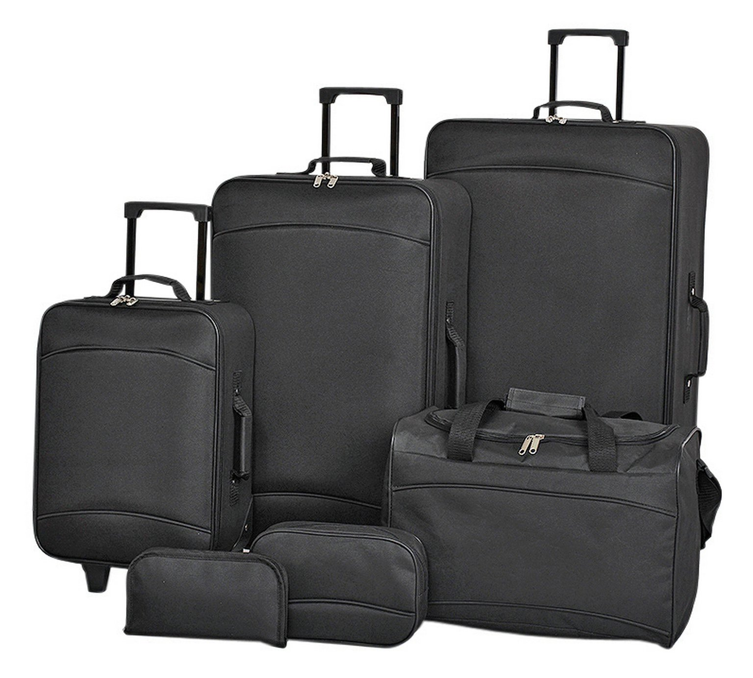 Simple Value 6 piece Luggage Set by Simple Value by Argos 527/2046