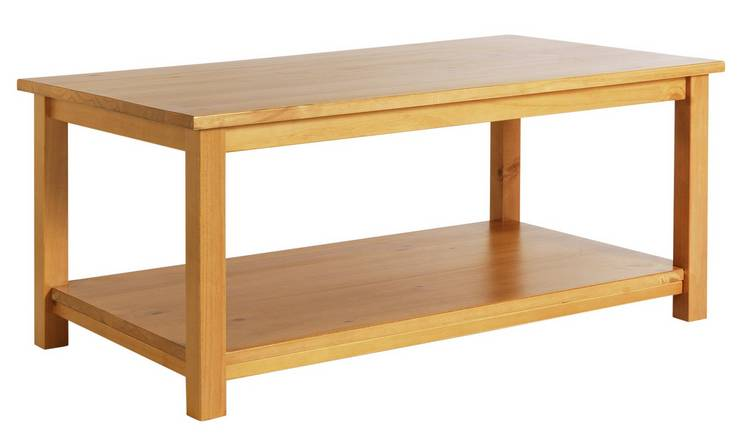 Argos Home Porto Solid Wood Coffee Table - Pine