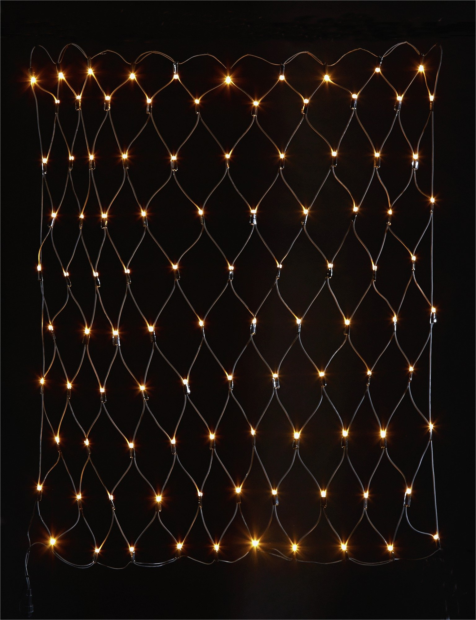 100 Net Connector Lights - Warm White