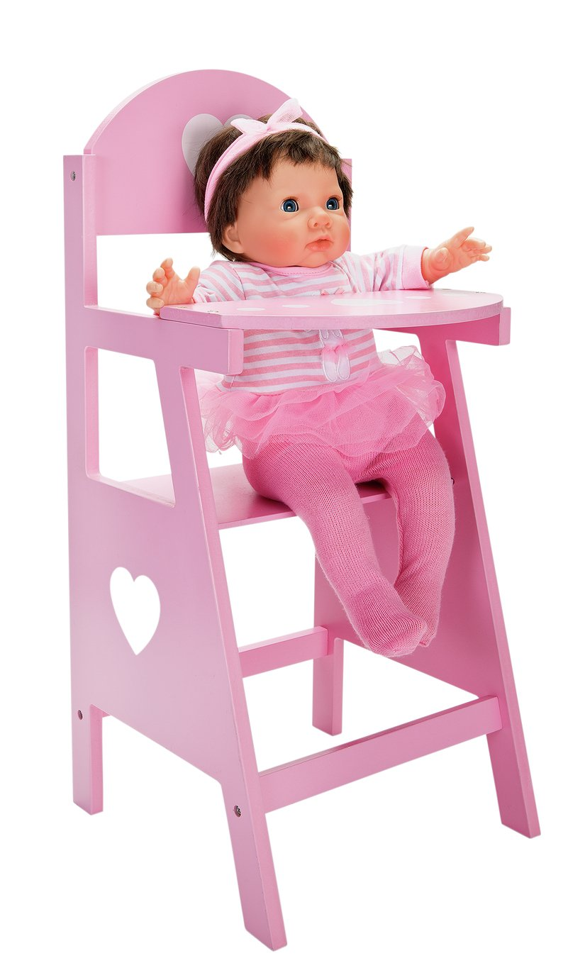 Chad Valley Babies to Love Wooden Doll's Highchair