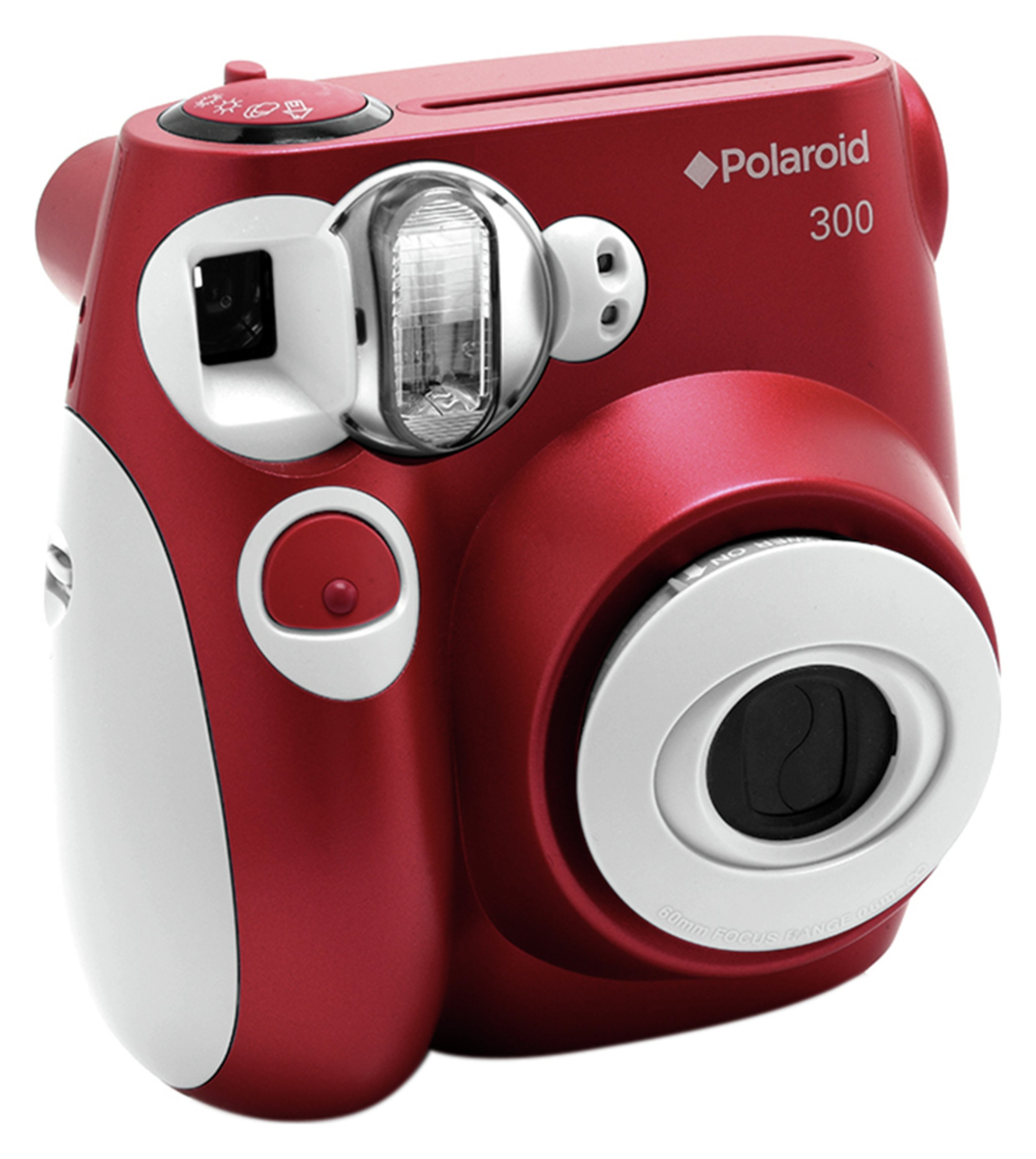 Polaroid PIC 300 Instant Film Camera - Red.