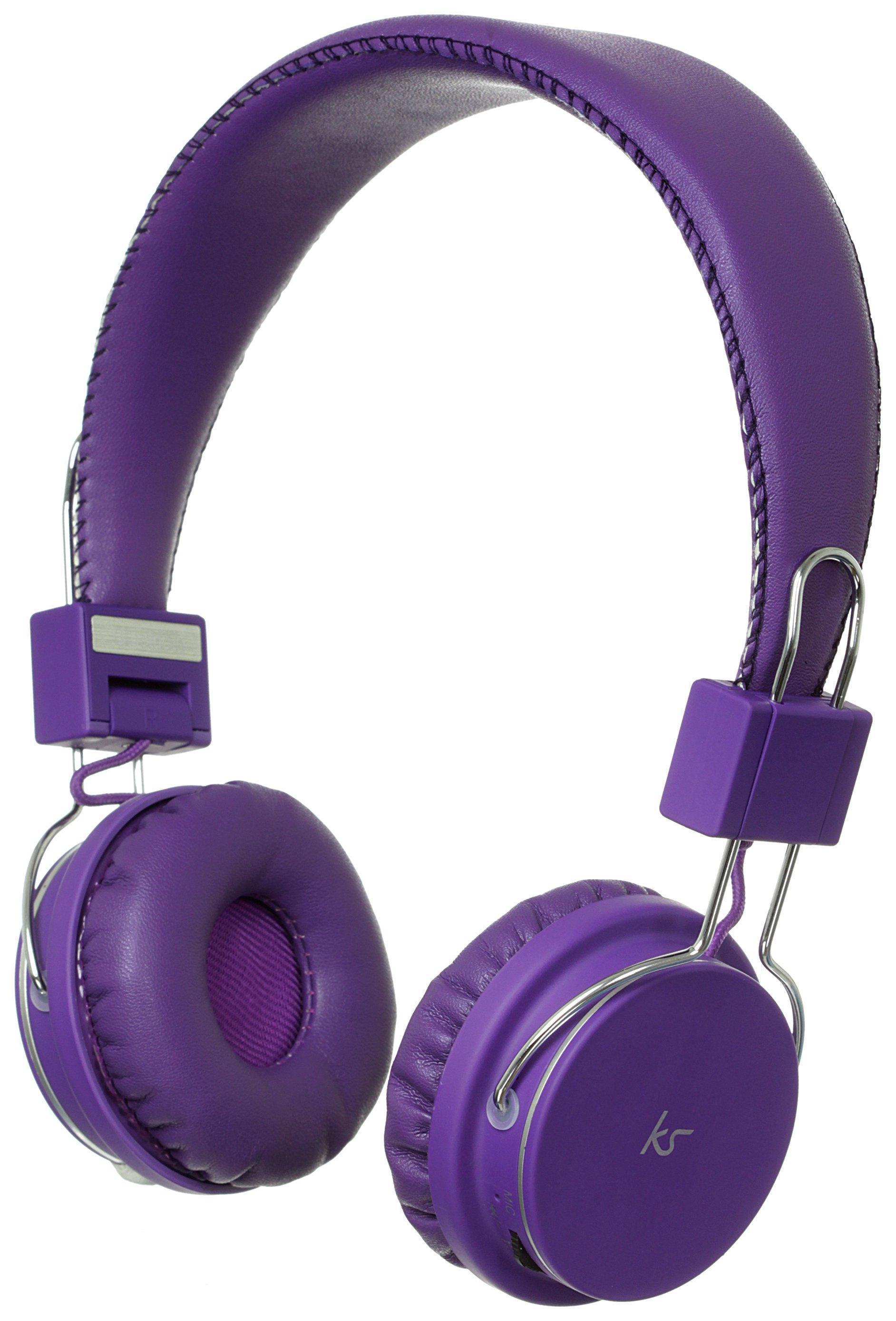 KitSound KitSound Manhattan Bluetooth On-Ear Headphones - Purple