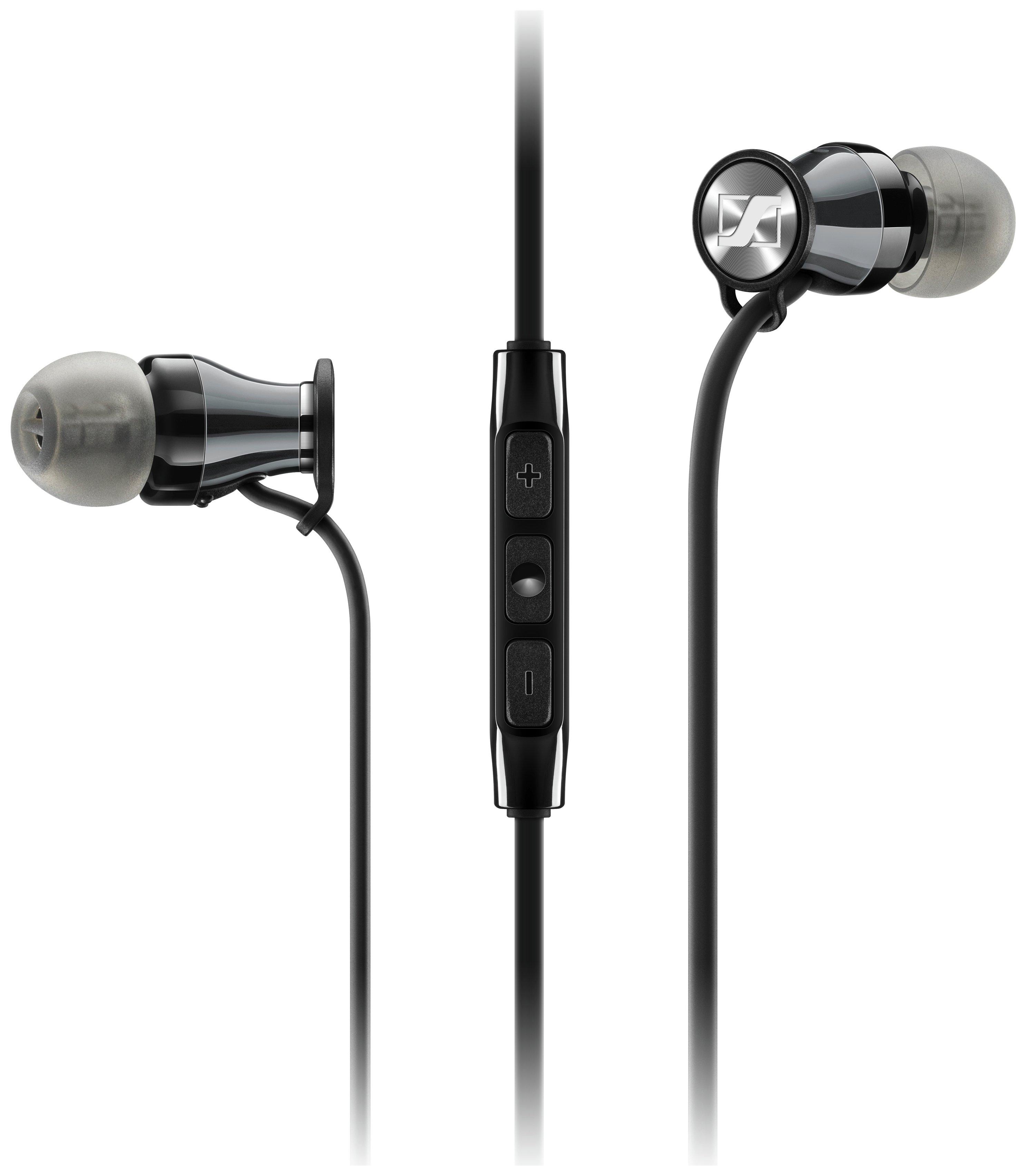 Sennheiser - Momentum M2 for Android In Ear Headphones - Black