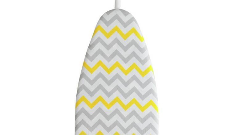 JML 139 x 49cm FastFit Ironing Board Cover - Yellow Chevron