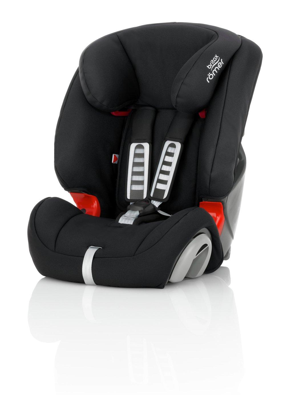 Britax Romer Evolva Group 1/2/3 Car Seat - Cosmos Black