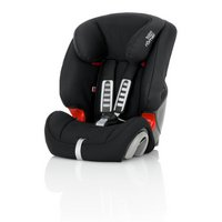 Britax Evolva Group 1-2-3 Black Car Seat.