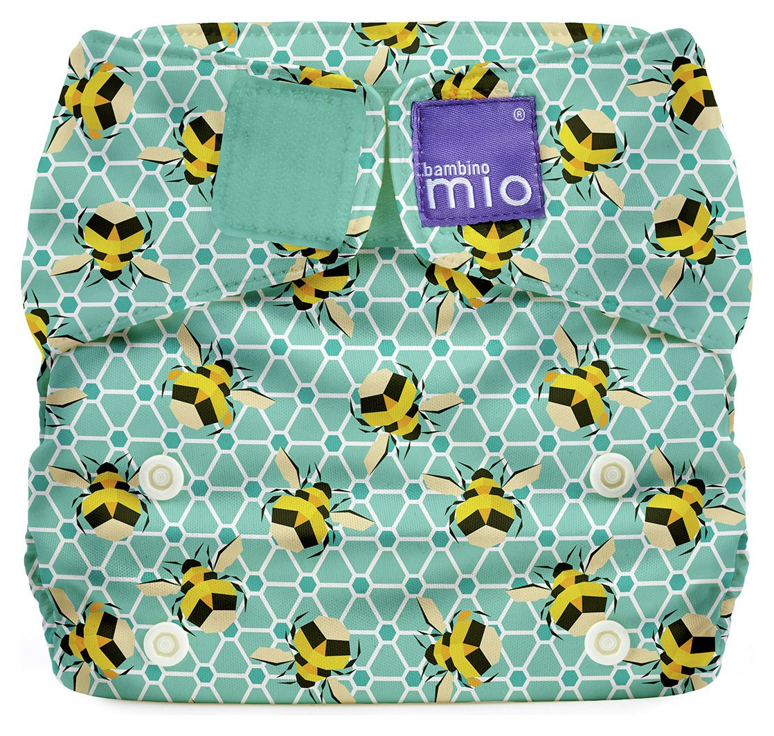 Image of Bambino Mio Miosolo All-In-One Reusable Nappy - Bumble.