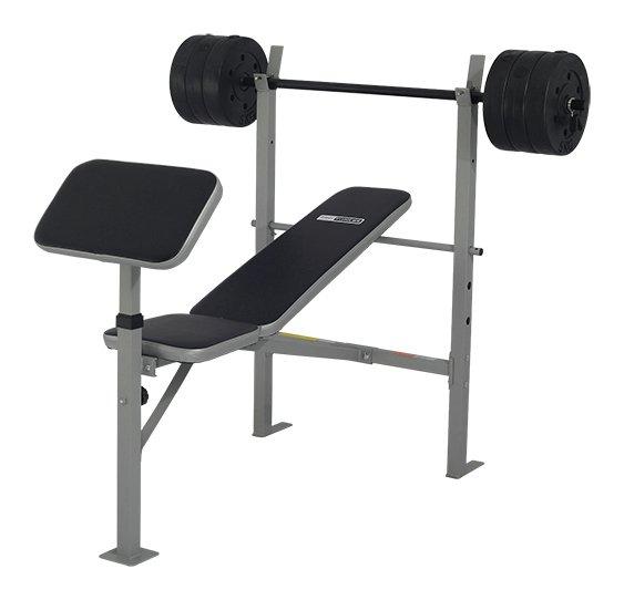 York Weights Bench Argos