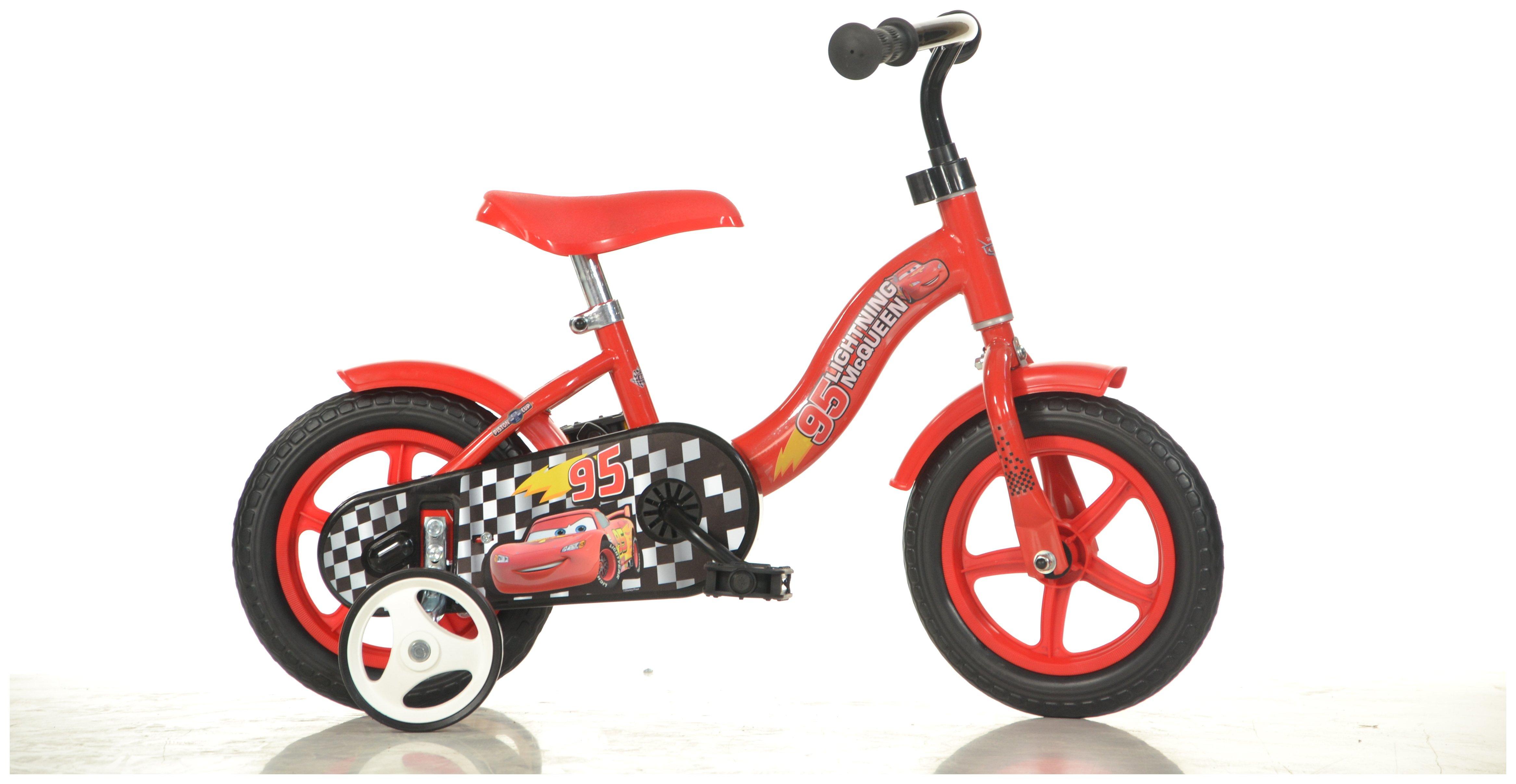 Image of Dino Bikes Cars 10 Inch Children's Bike