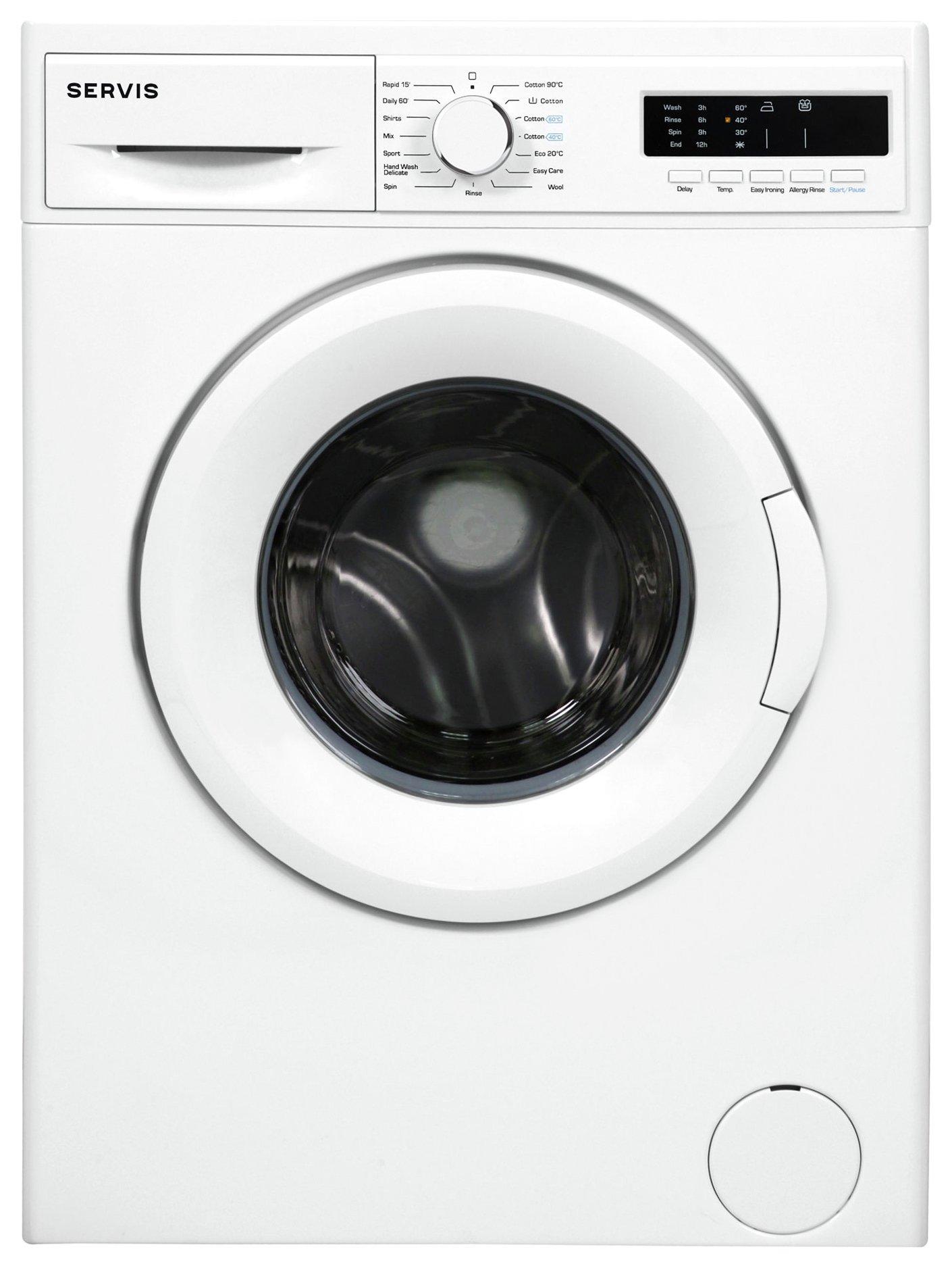 Servis L712W 7KG 1200 Spin Washing Machine - White.