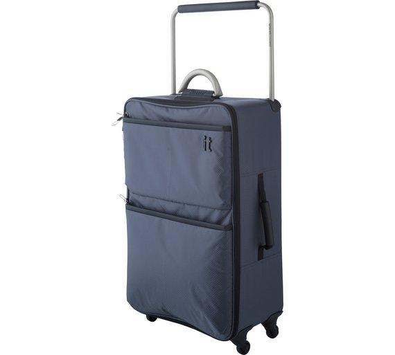 Buy IT Luggage World's Lightest Medium 4 Wheel Suitcase at Argos ...