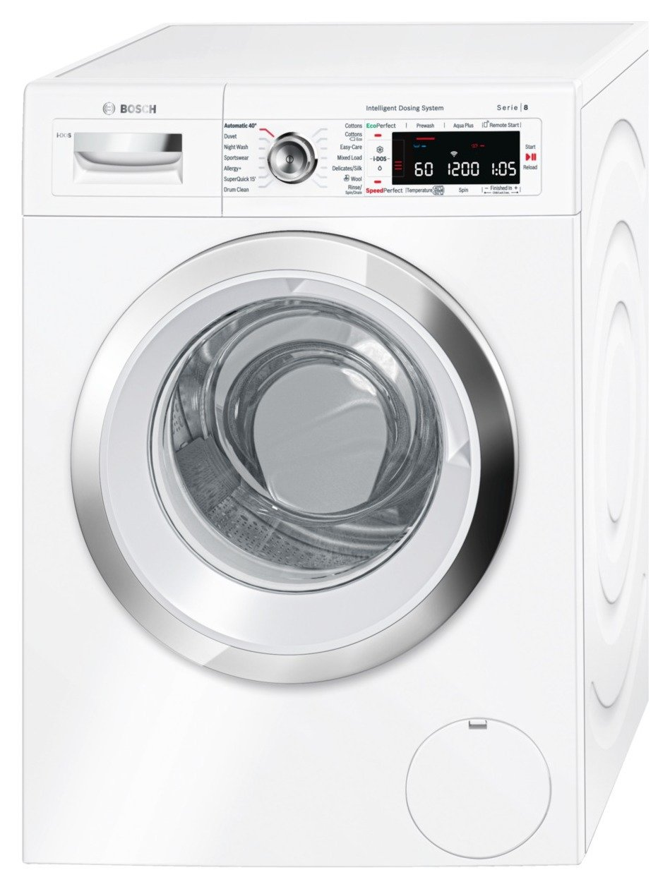 Image of Bosch WAWH8660GB 9KG 1400 Spin - Washing Machine - White