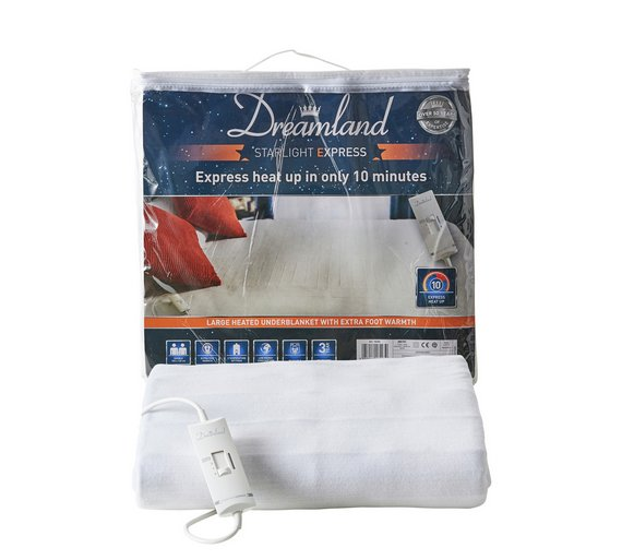 Buy Dreamland Starlight Express Heated Underblanket