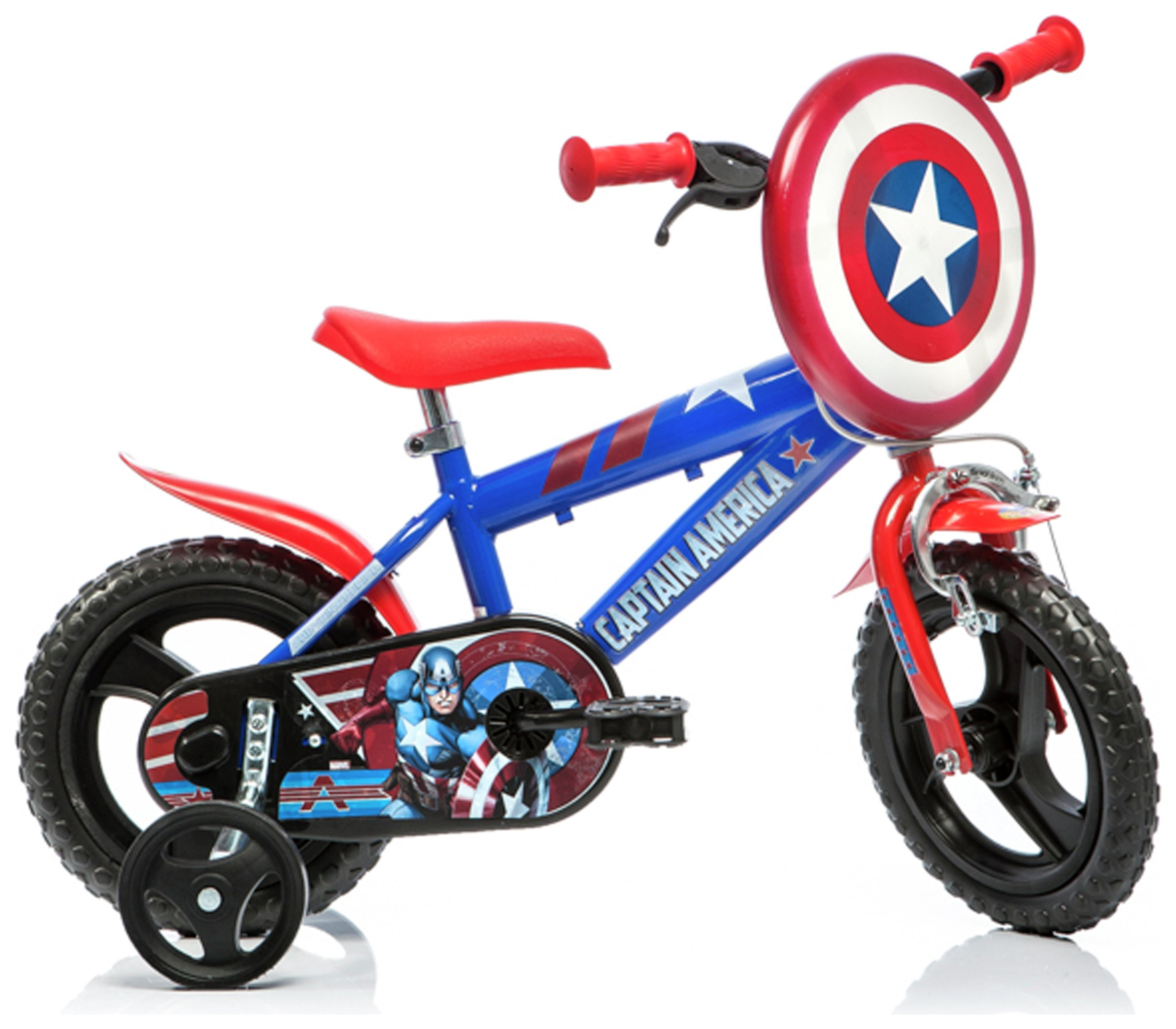 Captain America 12 Inch Kids Bike