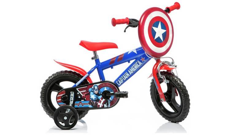 Buy Captain America 12 Inch Kids Bike | Kids bikes | Argos