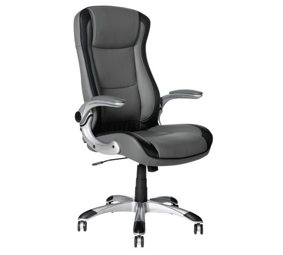 Buy HOME Dexter Adjustable Office Chair - Grey at Argos.co.uk - Your ...