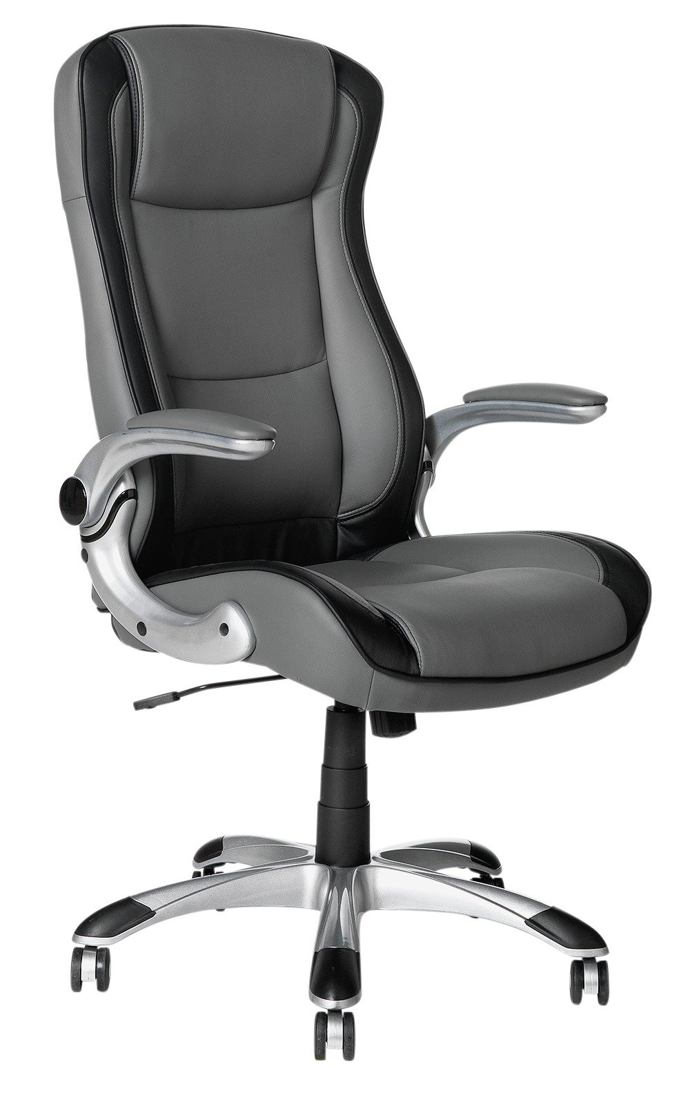 buy home dexter adjustable office chair - grey at argos.co.uk