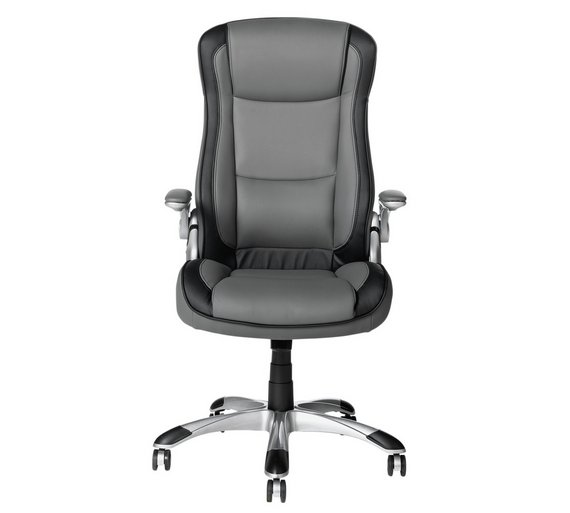Buy home dexter adjustable office chair grey at your online shop for office Buy home furniture online uk