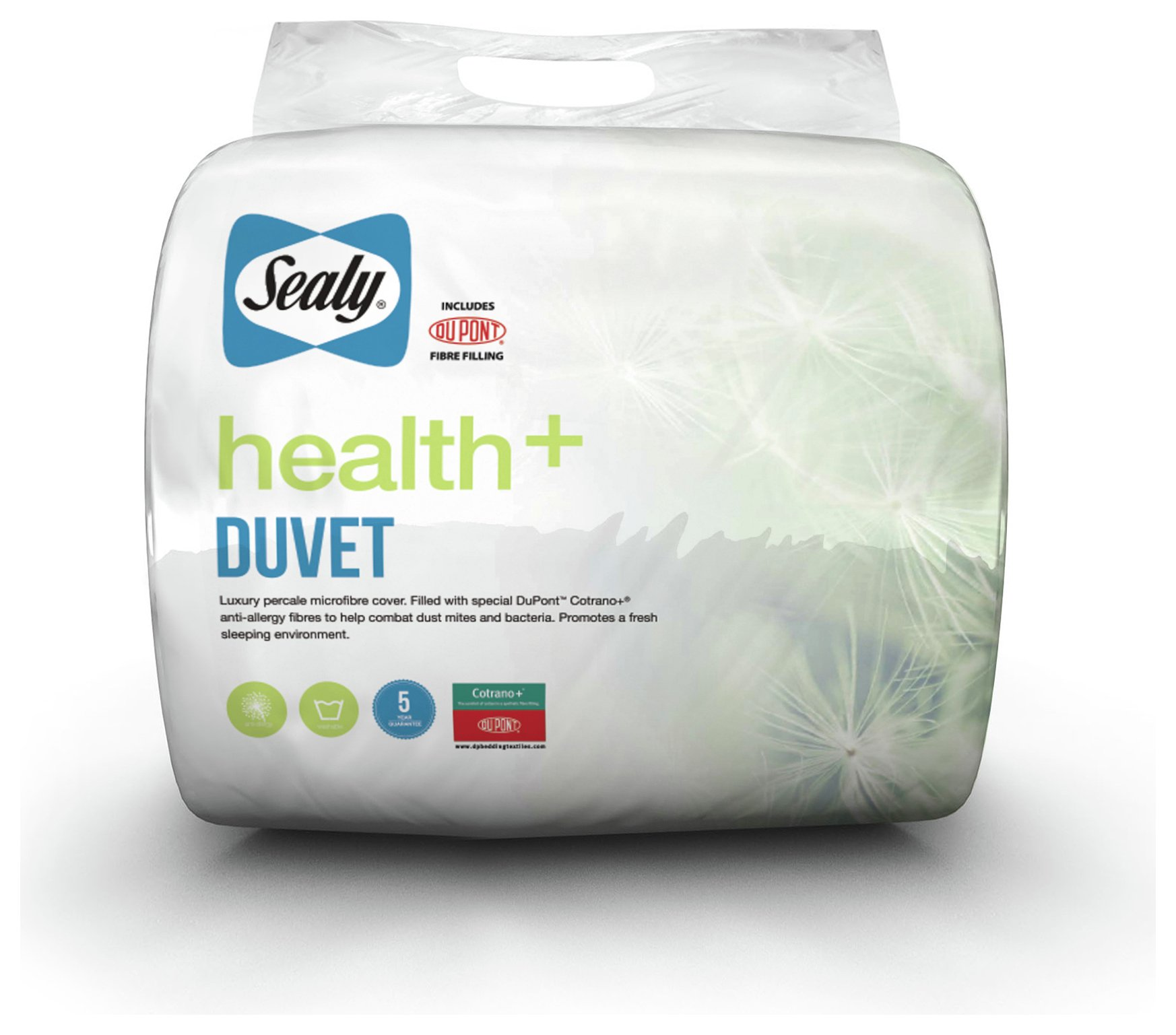 sealy  health 105 tog  duvet  double