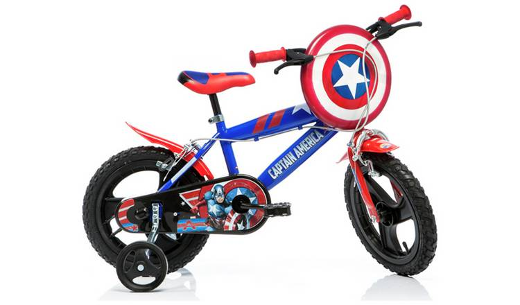 Marvel Captain America 16 inch Wheel Size Kids Bike