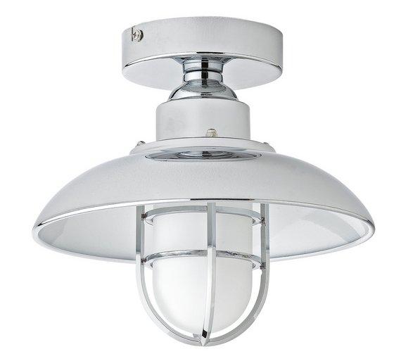 Buy Collection Kildare Fisherman Lantern Bathroom Light - Nickle ...