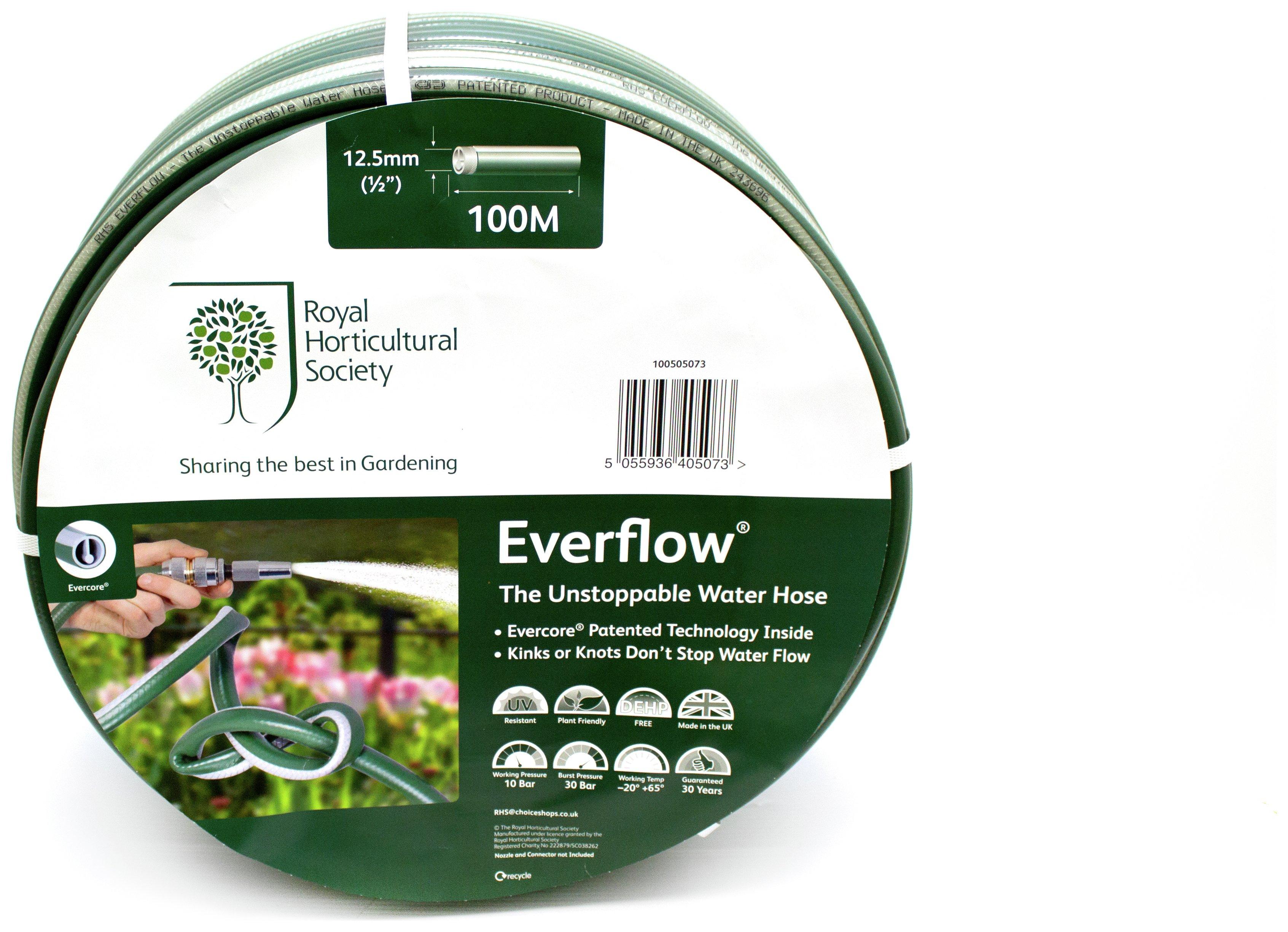 RHS Everflow Hose - 100 Metres. lowest price