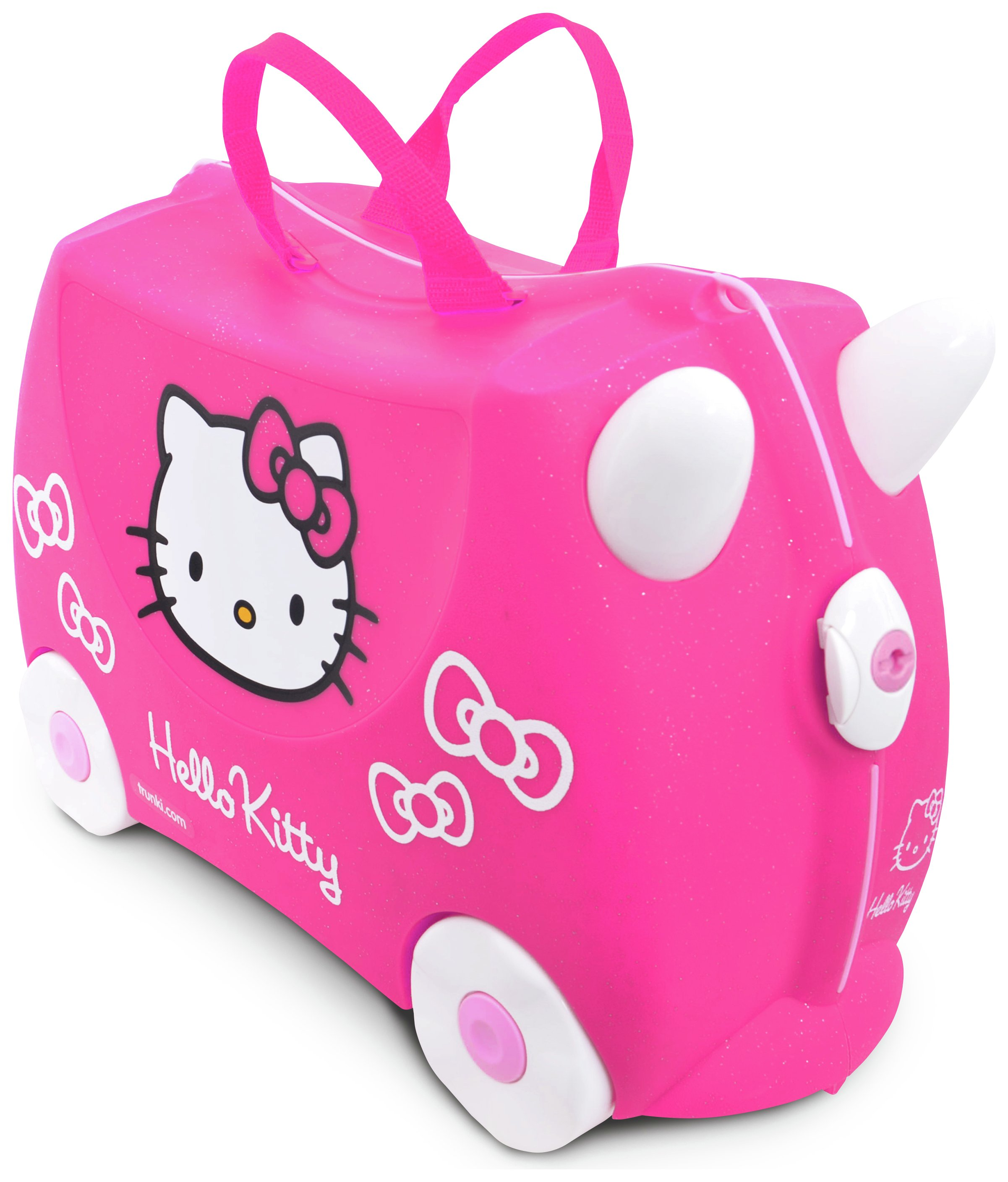 Buy Trunki Hello Kitty Ride-On Suitcase - Pink at Argos.co.uk ...