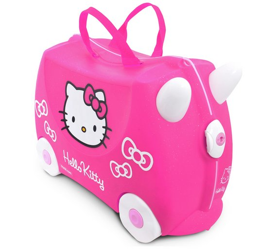 Buy Trunki Hello Kitty Ride-On Suitcase - Pink at Argos.co.uk ...
