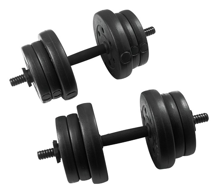 Everlast Vinyl Dumbbell Set 20kg Gay Times Uk 163 22 99