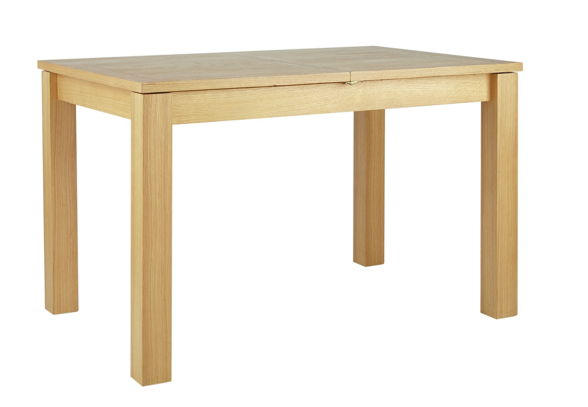 Image of Collection - Swanbourne Oak Veneer Extendable - Dining Table