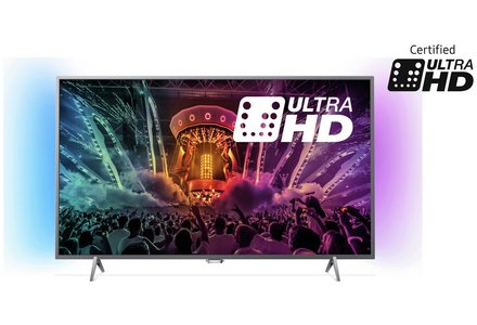 Philips 49PUS6401 49 Inch SMART 4K Ultra HD TV with HDR.