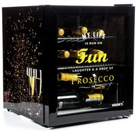 Husky Prosecco 46L Drinks Cooler (Black)