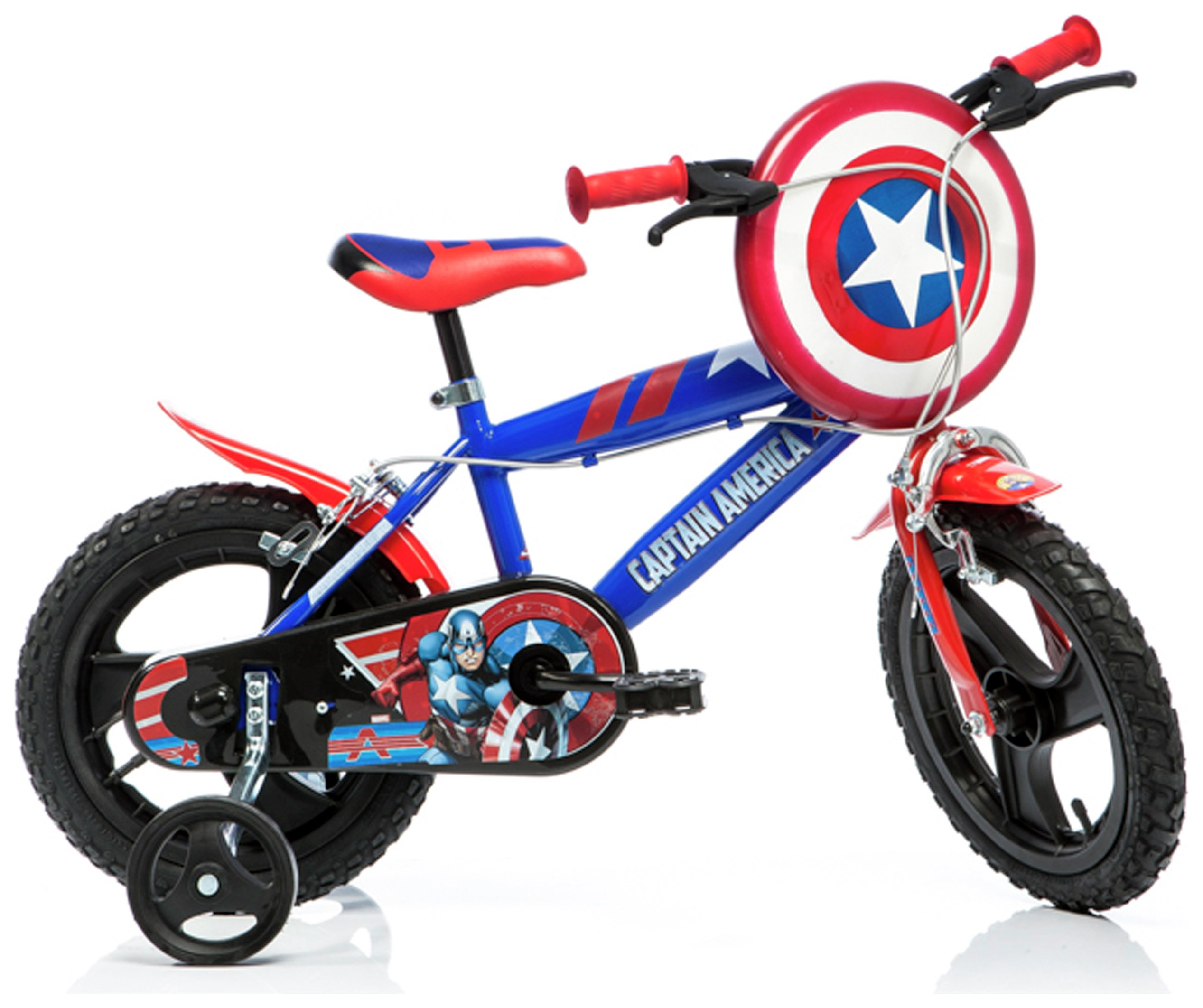 Image of Captain America 14 Inch Kids Bike